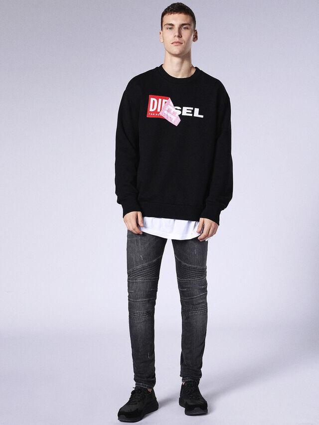 Diesel - Fourk 084NQ, Black/Dark grey - Jeans - Image 5
