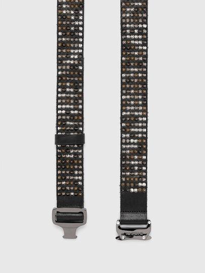 Diesel - B-FULSTAD, Black - Belts - Image 3