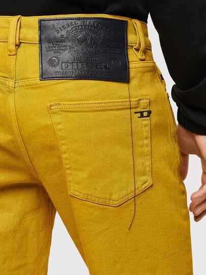 Diesel - D-STRUKT-SHORT-SP, Yellow - Shorts - Image 4