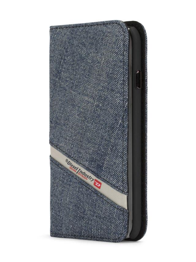 Diesel DENIM IPHONE 8/7 FOLIO, Blue Jeans - Flip covers - Image 3