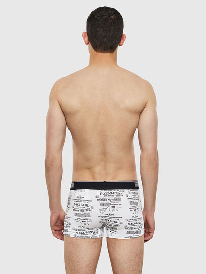 Diesel - UMBX-DAMIEN, White/Black - Trunks - Image 2