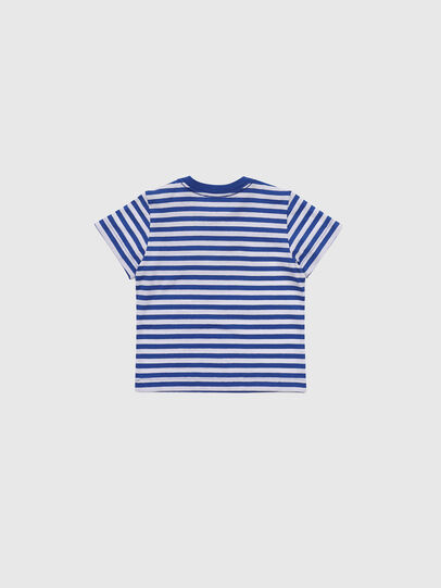 Diesel - TVIKB, Blue/White - T-shirts and Tops - Image 2