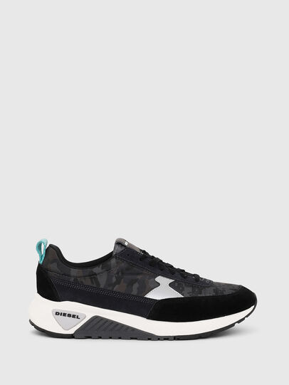 Diesel - S-KB LOW LACE II, Black/Dark grey - Sneakers - Image 1