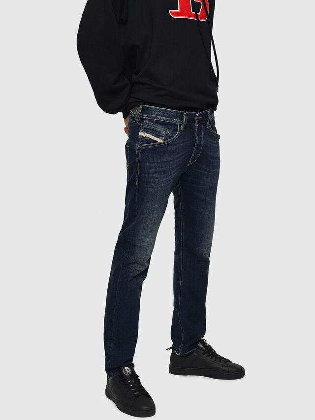 Diesel Belther 0814W, Dark Blue - Jeans - Image 3