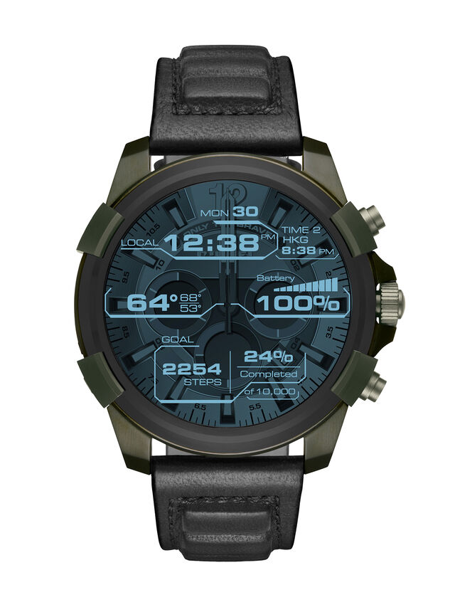Diesel DT2003, Military Green - Smartwatches - Image 2