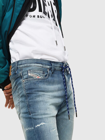 Diesel - D-Vider JoggJeans 069JZ, Light Blue - Jeans - Image 6