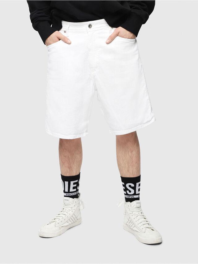 Diesel - D-WILLOH, White - Shorts - Image 1