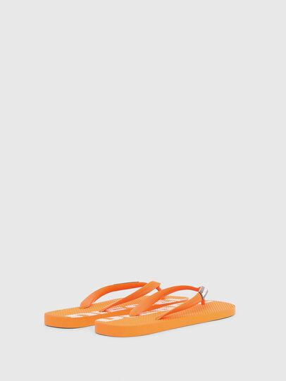 Diesel - SA-BRIIAN, Orange - Slippers - Image 3