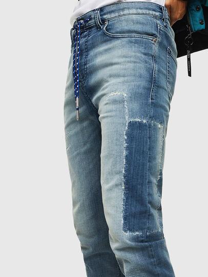 Diesel - D-Vider JoggJeans 069JZ, Light Blue - Jeans - Image 3