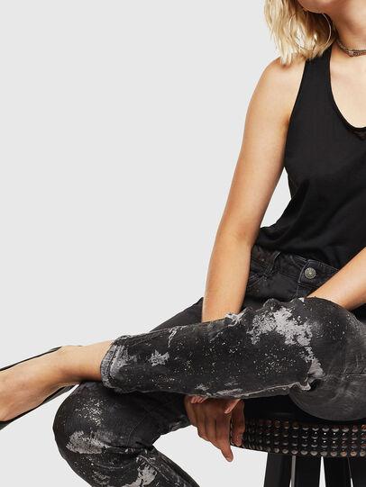 Diesel - D-Ollies JoggJeans 084AZ, Black/Dark grey - Jeans - Image 3