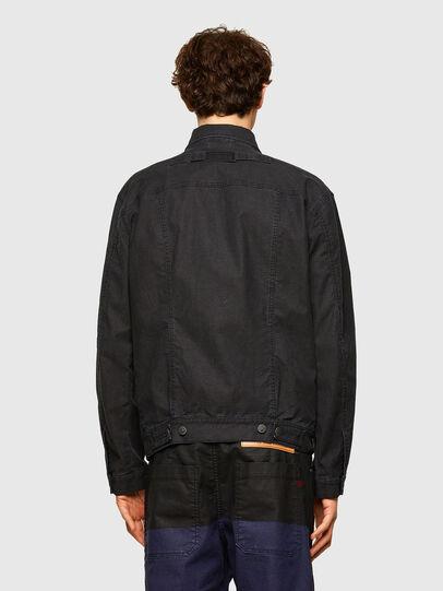 Diesel - D-ROKU-SP JOGGJEANS, Black/Blue - Denim Jackets - Image 2