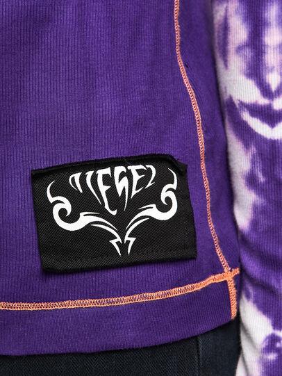 Diesel - T-LAPIS, Violet - T-Shirts - Image 5