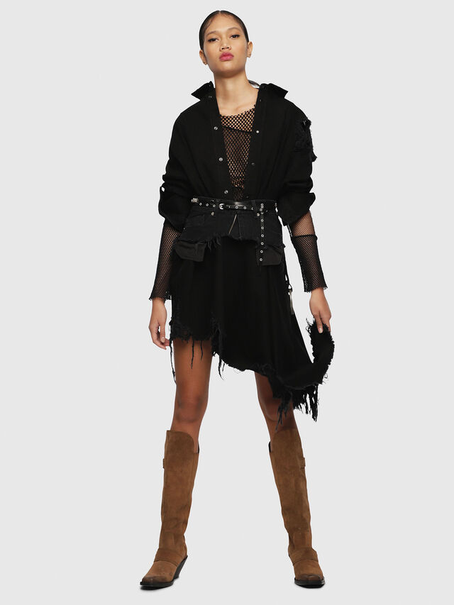 Diesel - DE-PEONY, Black - Dresses - Image 6