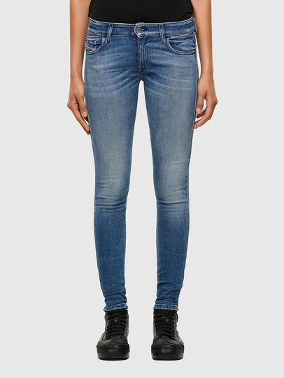 Diesel - Slandy Low 009JI, Light Blue - Jeans - Image 1
