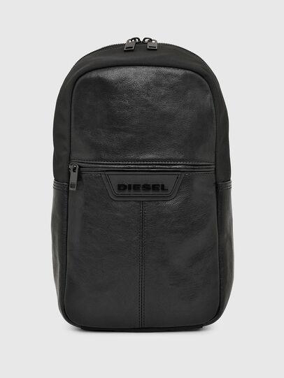 Diesel - F-SUSE MONO MR, Black - Crossbody Bags - Image 1