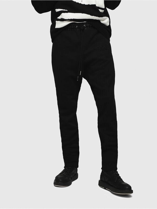 Diesel - P-FUMIO-RR, Black - Pants - Image 1