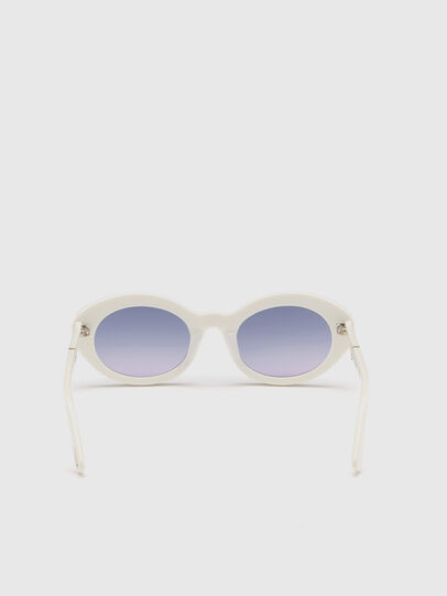 Diesel - DL0281, White - Sunglasses - Image 4