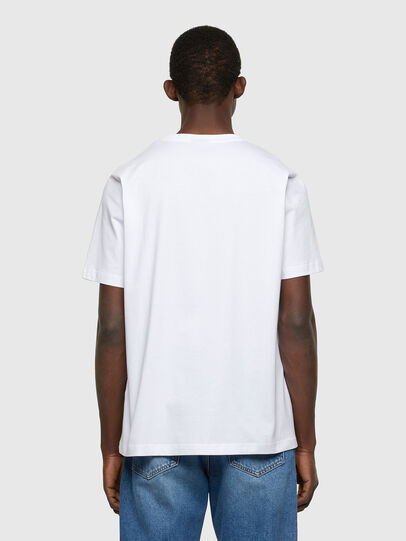 Diesel - T-JUST-A36, White - T-Shirts - Image 2