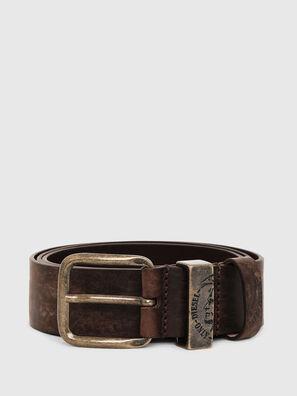 B-FRAG, Brown Leather - Belts