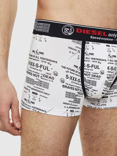Diesel - UMBX-DAMIEN, White/Black - Trunks - Image 3