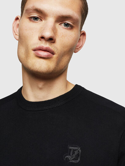 Diesel - K-JOEY, Black - Knitwear - Image 3
