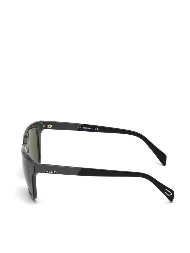 Diesel - DL0224, Green - Sunglasses - Image 3