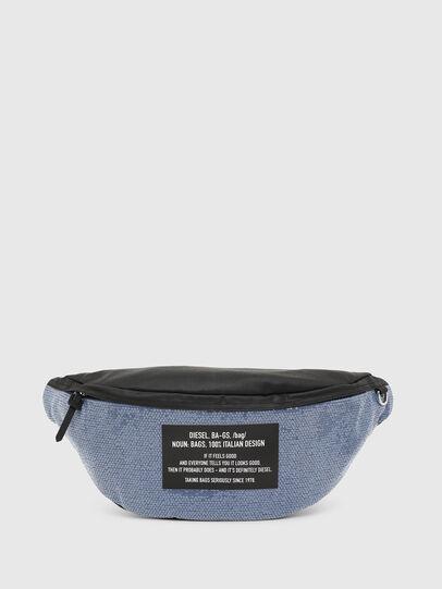 Diesel - D-THISBAG BELT, Blue/Black - Belt bags - Image 1