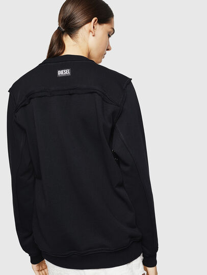 Diesel - F-LYANY-H, Black - Sweaters - Image 2