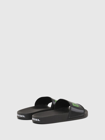 Diesel - SA-VALLA, Black - Slippers - Image 3