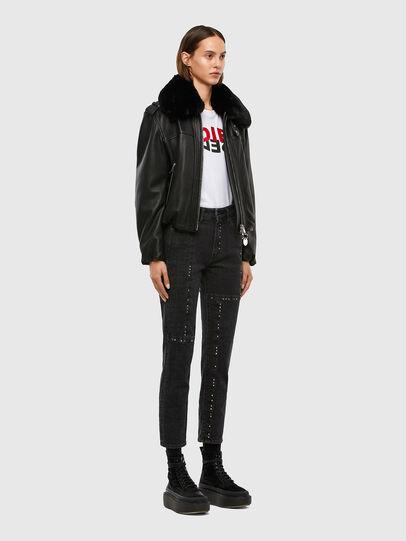 Diesel - D-Joy JoggJeans 009KY, Black/Dark grey - Jeans - Image 7