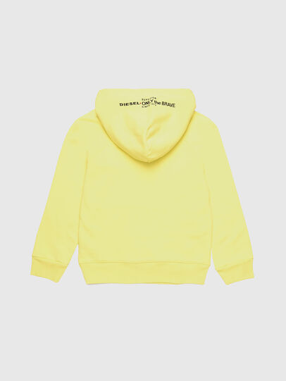 Diesel - SGIMHOODA, Light Yellow - Sweaters - Image 2