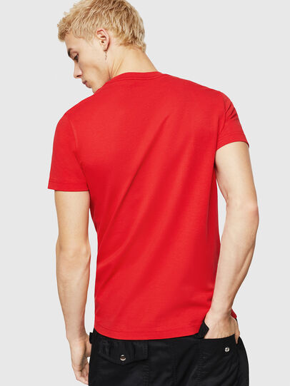 Diesel - T-DIEGO-DIV, Fire Red - T-Shirts - Image 2