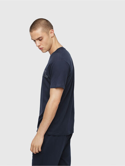 Diesel - UMLT-JAKE, Night Blue - T-Shirts - Image 3