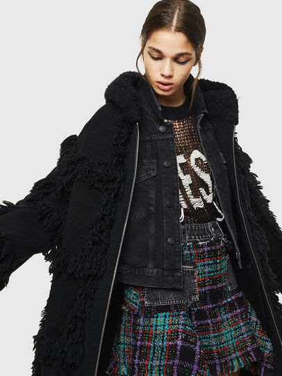 Diesel - M-LYNE, Black - Winter Jackets - Image 4