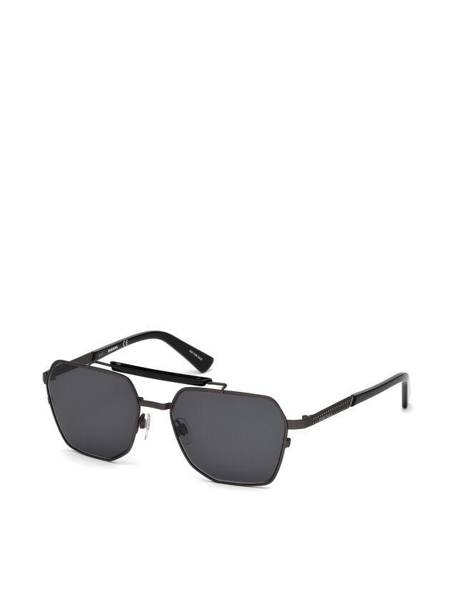 Diesel - DL0256, Black - Eyewear - Image 2