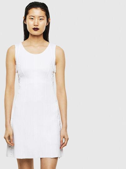 Diesel - D-AZURILE, White - Dresses - Image 1