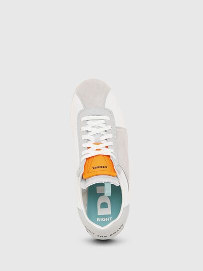 Diesel - S-PYAVE LC, White/Grey - Sneakers - Image 4