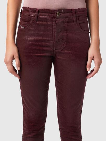 Diesel - Babhila 069XI, Red - Jeans - Image 3