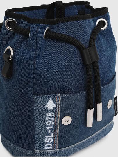 Diesel - DENIPACK, Blue Jeans - Backpacks - Image 4
