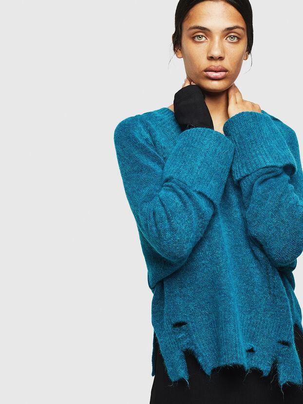 M-MARIKAX, Blue Marine - Knitwear