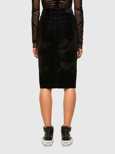 Diesel - D-ELBEE-SP JOGGJEANS, Black - Skirts - Image 2