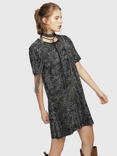 Diesel - D-ARY, Black/Grey - Dresses - Image 3