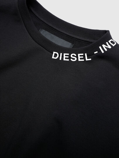 Diesel - UFLT-FELPH-R, Black - Sweaters - Image 3