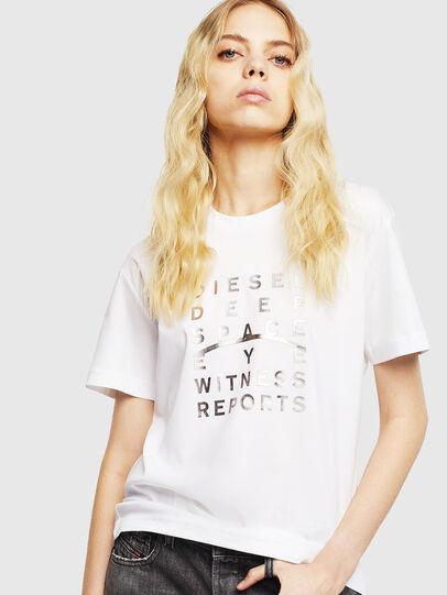 Diesel - T-DIEGO-J8, White - T-Shirts - Image 2