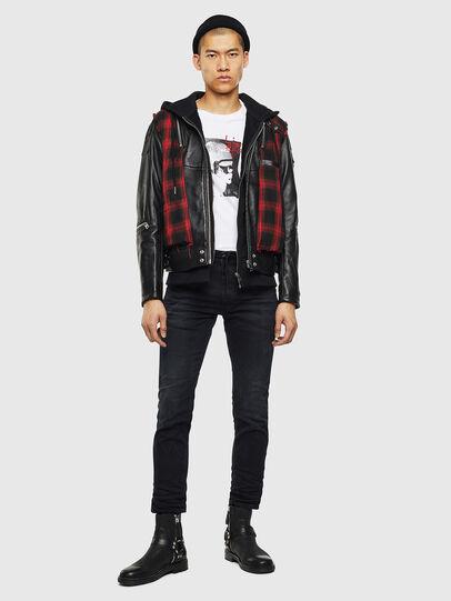 Diesel - Krooley JoggJeans 069KJ, Black/Dark grey - Jeans - Image 5
