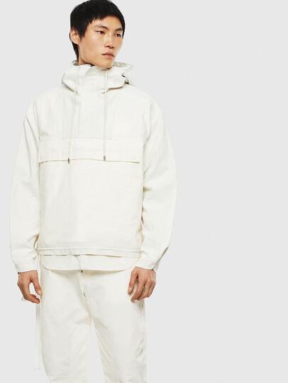 Diesel - J-BITY, White - Jackets - Image 1