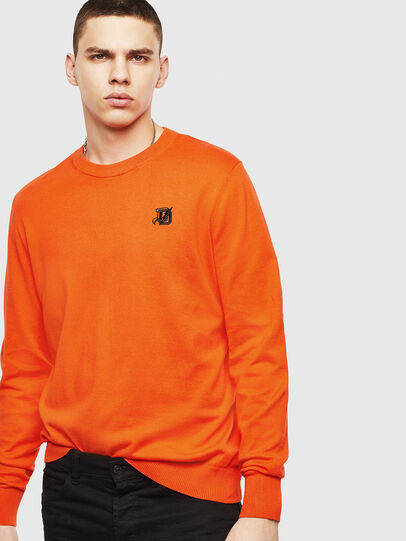 Diesel - K-FREEX, Orange - Knitwear - Image 4