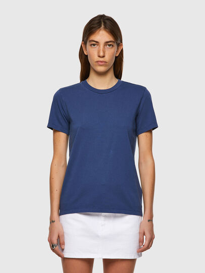 Diesel - T-SILY-B1, Blue - T-Shirts - Image 1