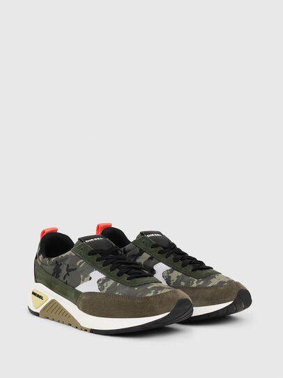 Diesel - S-KB LOW LACE II, Green Camouflage - Sneakers - Image 2