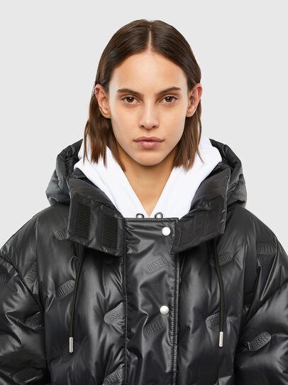 Diesel - W-LALLA, Black - Winter Jackets - Image 4